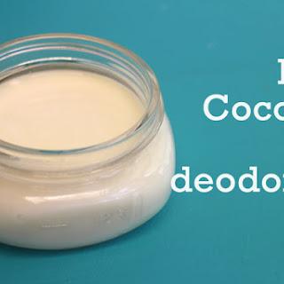 Coconut Oil Deodorant