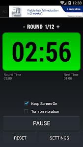 Boxing Interval Timer FREE screenshot 0