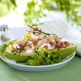 Seafood Stuffed Avocado