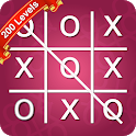 Tic Tac Toe Ultimate (200 Levels) - Emoji Classic icon