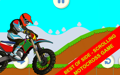 Moto crossing hill game