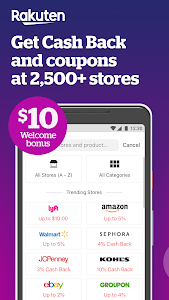 Rakuten Ebates - Cash Back, Coupons & Promo Codes 7.12.0