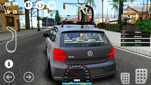 Car Racing Volkswagen Game 1.0 screenshots 1