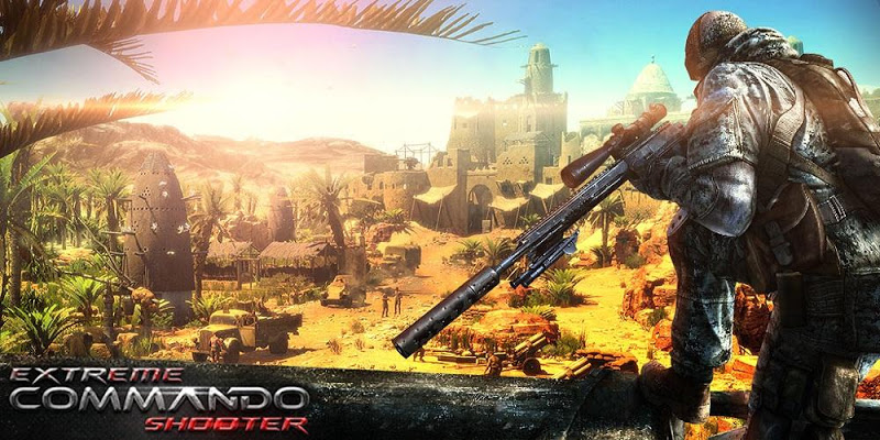 Commando Sniper Shooter 2016 - screenshot