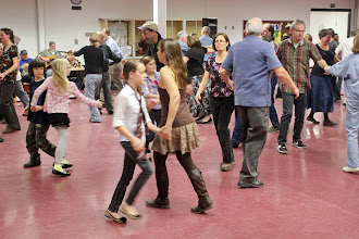 Photo: At the square dance