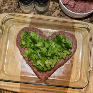 Broccoli Cheddar Meatloaf.