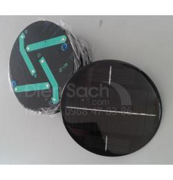 Tấm Pin hình tròn đường kính 138mm