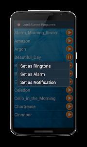 Loud Alarms Sounds Ringtones screenshot 1