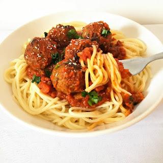 Italian Spaghetti Meatballs