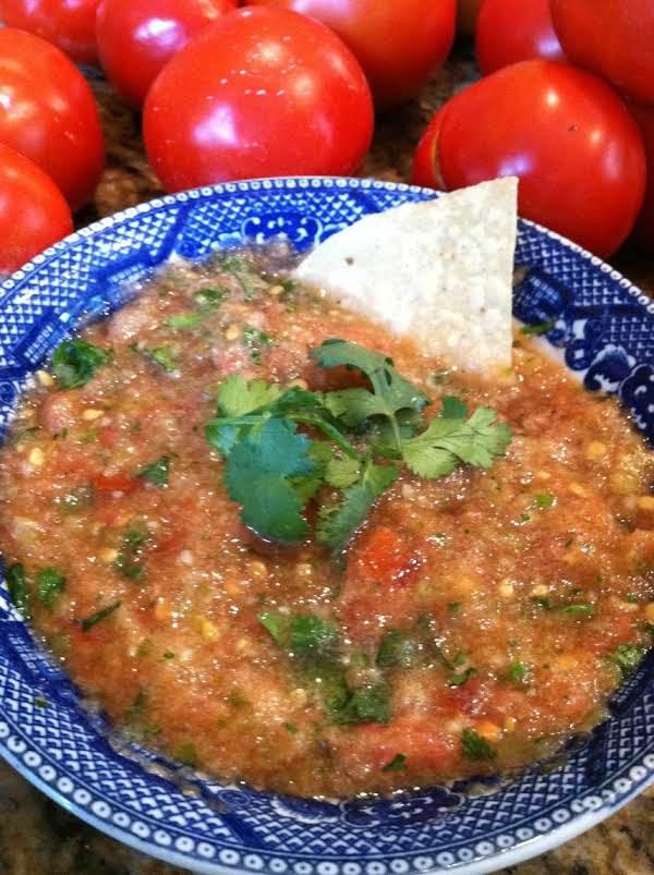 Texas Homemade Salsa Recipe