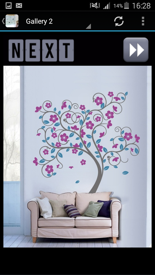 Wall art decor ideas android apps on google play for Picture on wall app