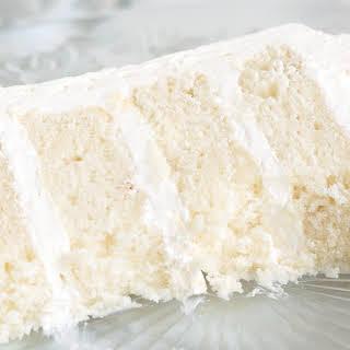Velvety Soft White Cake.