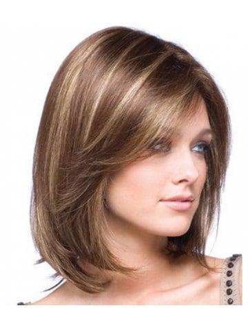 Gold Gradients Straight Short Wig