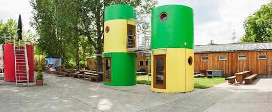 Photo: Veloform Media bboxx Living Qbe Hotel Heozhaus