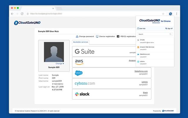CloudGate UNO for Google Chrome