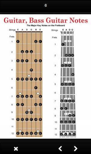 Bass guitar chords 1.0 screenshots 8