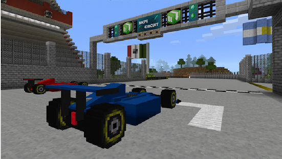 Super Speed Formula Mod for MCPE - náhled