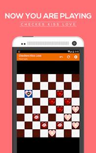 Checkers kiss love screenshot 4