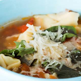 Tortellini Soup.