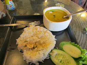Photo: Green curry for lunch