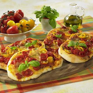 Rustic Tomato Pizzas