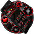 Dark Red Black Tech Theme