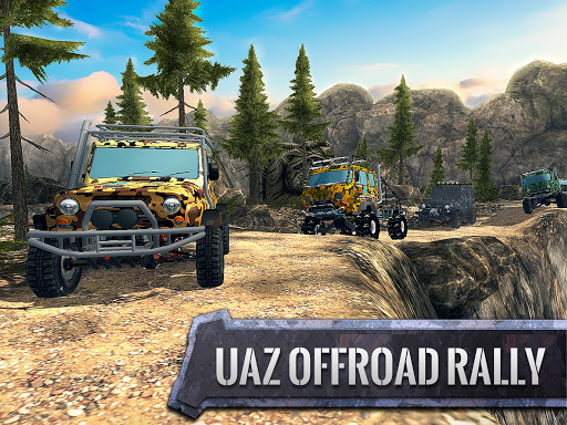 ud83dude97ud83cudfc1UAZ 4x4: Dirt Offroad Rally Racing Simulator android2mod screenshots 5
