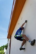 Photo: ..., a znaleźliśmy ściankę do wspinaczki..