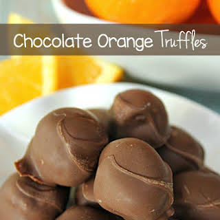 Orange Flavored Chocolate Recipes.