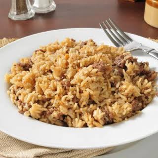 Hearty Hamburger Rice.
