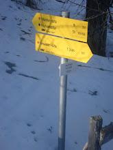 Photo: greva dalje, vrh je še zelooooo daleč. Do tu sva hodila skoraj 3h, še veliko poti naju čaka