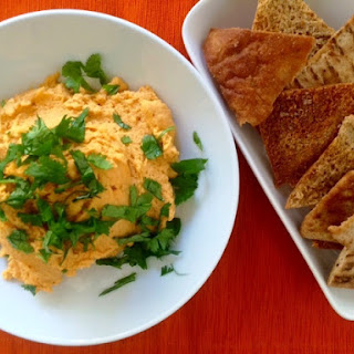 Red Lentil and Roasted Carrot Hummus