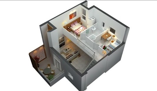 3d small house plan android apps on google play for Small house design 3d