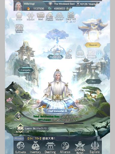 Immortal Taoists-Idle Game of Immortal Cultivation 1.4.6 screenshots 13