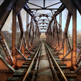 by Biljana Nikolic - Transportation Railway Tracks