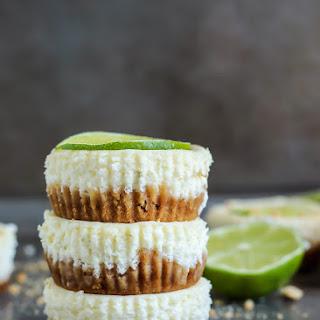 Mini Key Lime Cheesecakes with Greek Yogurt Recipe