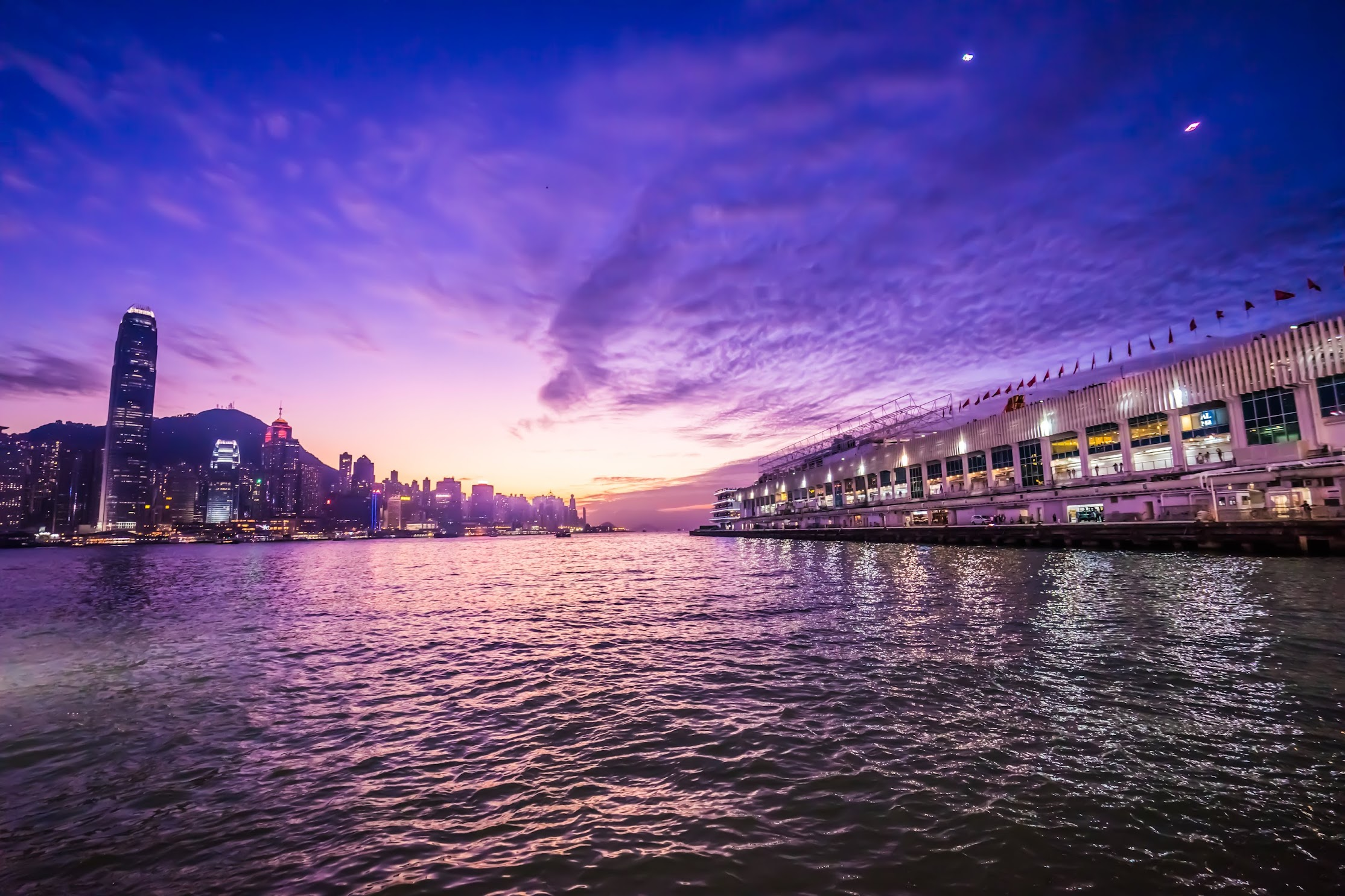 Hong Kong Tsim Sha Tsui evening view5