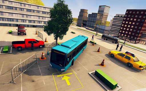 City Bus Driving School Game 3D-Coach Bus Sim 2020  screenshots 5