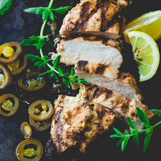 Garlic Lemon Chicken Marinade.