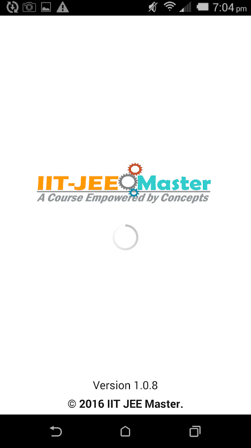IIT JEE Video lectures- screenshot