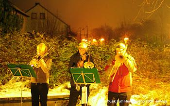Photo: Bläsermusik zum Heilig Abend 2009 an der Förde