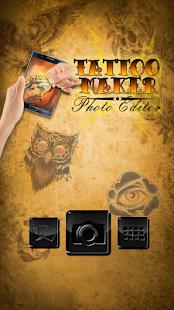 Tetování fotomontáž volný - náhled