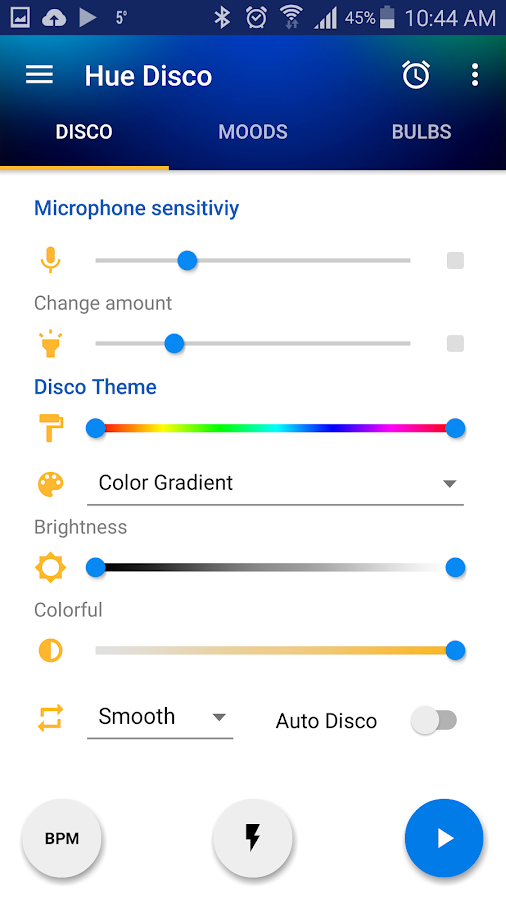 Hue Disco- screenshot