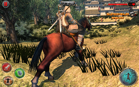 Super Ninja Kungfu Knight Samurai Shadow Battle 7