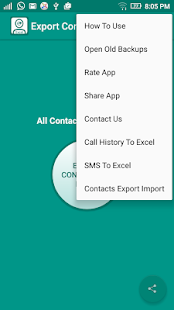 Contact To Excel- screenshot thumbnail