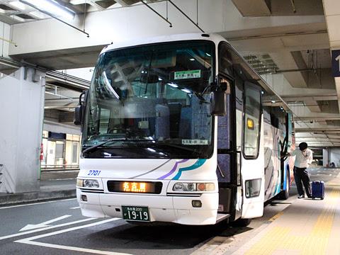 名鉄バス「名古屋~新潟線」 2701 名鉄BC到着 その1