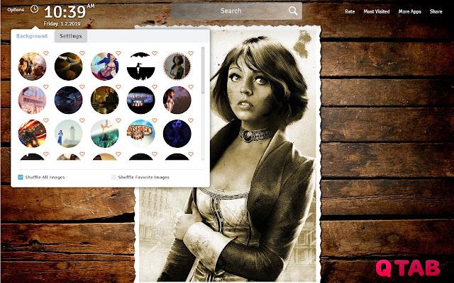 BioShock Infinite Wallpapers New Tab