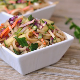 Asian Rice Noodle Salad Recipes