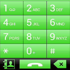 THEME FOR EXDIALER GLASS GREEN