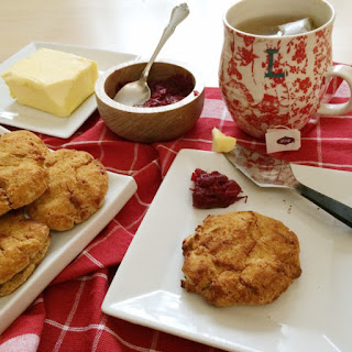 Pumpkin Spice Low Carb Scones